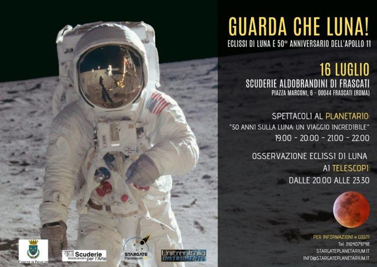 16 Luglio 2019 – Evento: Guarda Che Luna