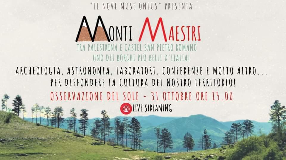 31 Ottobre 2020 – Monti Maestri